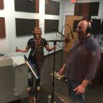 Laura & Derrick in Studio